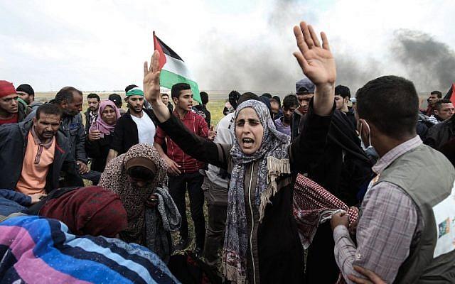 Una marcha para destruir Israel – Por Bassam Tawil (Gatestone)