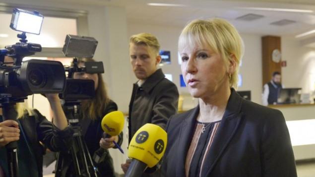 """Israel cínicamente a Suecia: """"¿Por qué no vinieron antes? ¡Ustedes han logrado hacer la paz en el mundo!"""""""