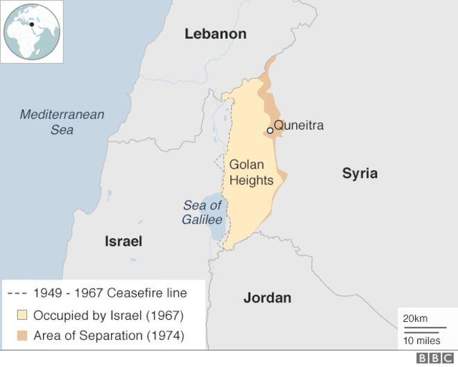 El estratégico Golán – Por Beatriz de Rittigstein