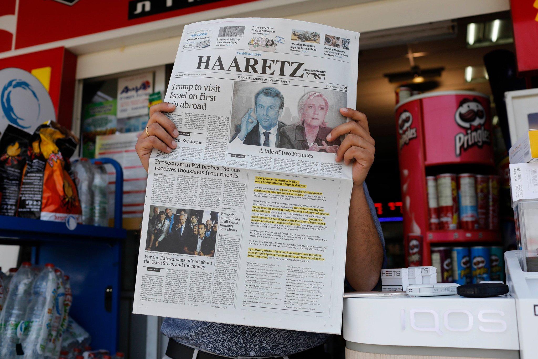 El Pueblo contra Haaretz – Por Shmuel Rosner (The New York Times)
