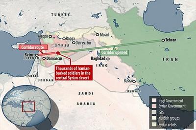 El desarrollo del corredor iraní hacia el Mediterráneo – Por Emil Avdalian