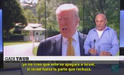 """Dr. Gadi Taub sobre la propuesta Trump: """"Los palestinos no quieren su estado independiente"""""""
