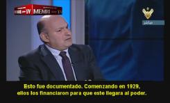 """Académico libanés: """"Estados Unidos y los sionistas financiaron a Hitler"""""""