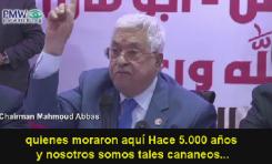 """Mahmoud Abbas: """"¡Somos los cananeos!... [Israel es] el enemigo"""" - Por Maurice Hirsch e Itamar Marcus (Palestina Media Watch)"""