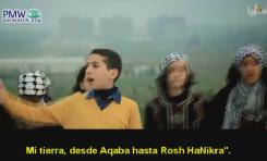 Incitación al odio en la TV Oficial de la Autoridad Palestina