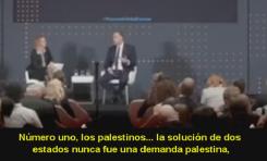 """Representante de la OLP en Inglaterra: """"Nunca deseamos una solución de dos estados"""""""