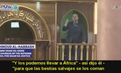 """Racismo y Antisemitismo Palestino: """"Hertzl quería deportar a palestinos para que salvajes africanos se los coman"""""""