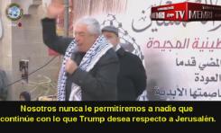 """Ceremonia aniversario de Fatah: """"Juramos tomar las armas; un asentamiento israelí es incendiado"""""""