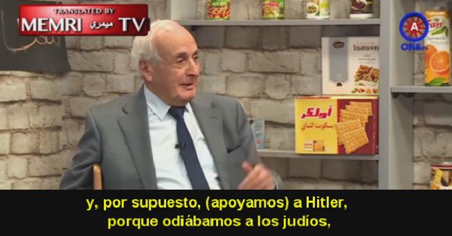 Ex-ministro de salud jordano: Los árabes apoyamos a Hitler porque odiabamos a los judíos