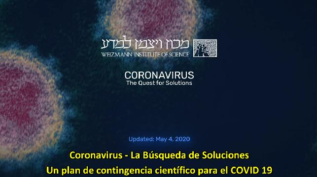 COVID-19 - Un plan de contingencia científico para el COVID 19