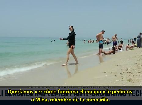 Las playas en Israel implementan tecnología de rescate y anti-ahogamiento…