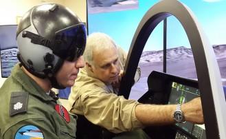 El Simulador de Vuelos de las Fuerzas de Defensa de Israel