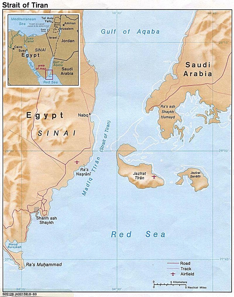 Egipto entrega las islas a los Saudítas – De regreso al estrecho de Tirán y la Isla de Snapir – Por Prof. Eyal Zisser (Israel Hayom 12/4/16)