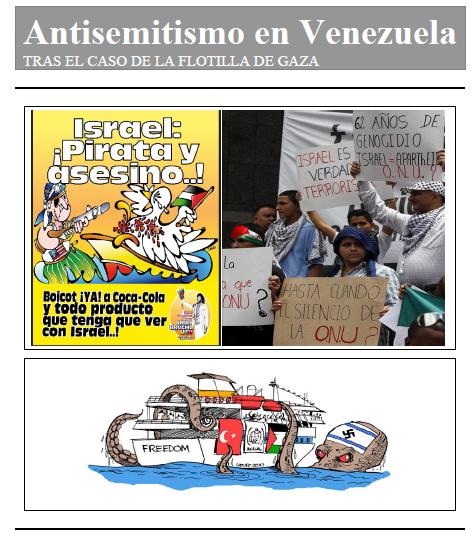 Antisemitismo en Venezuela tras la flotilla turca