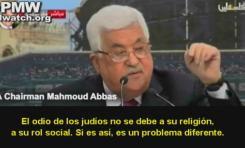 """Mahmoud Abbas: """"La usura de los judíos causó el antisemitismo"""""""