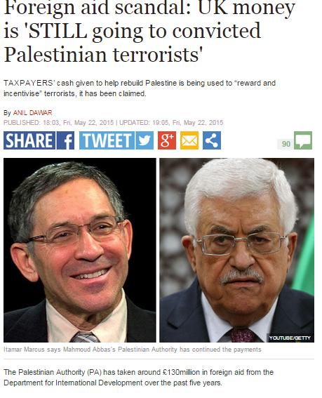 La Autoridad Palestina invierte buena parte de la ayuda internacional en subvención del terrorismo – Por Roxana Levinson