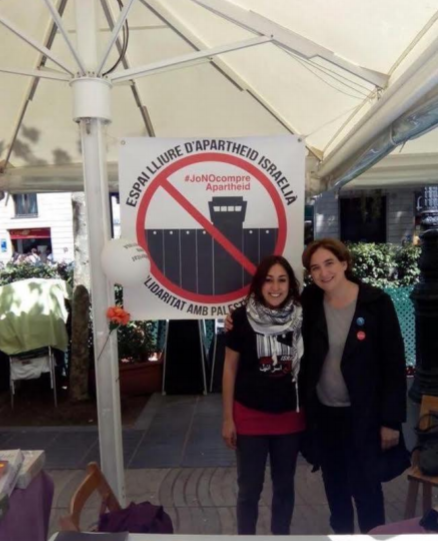 """""""Inmorales del mundo uníos"""" – Ada Colau, Alcaldesa de Barcelona y sus conductas antisemitas"""