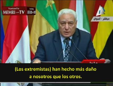 """Ex presidente de la Universidad Al-Azhar: """"Debemos reformar nuestro discurso religioso para enfrentar a los extremistas"""""""