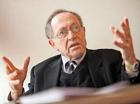 """Alan Dershowitz. ¿Los judíos que se niegan a renegar de Israel son excluidos de los grupos """"progresistas""""?"""