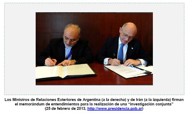 Argentina e Irán acuerdan investigar conjuntamente el caso AMIA (Meir Amit)
