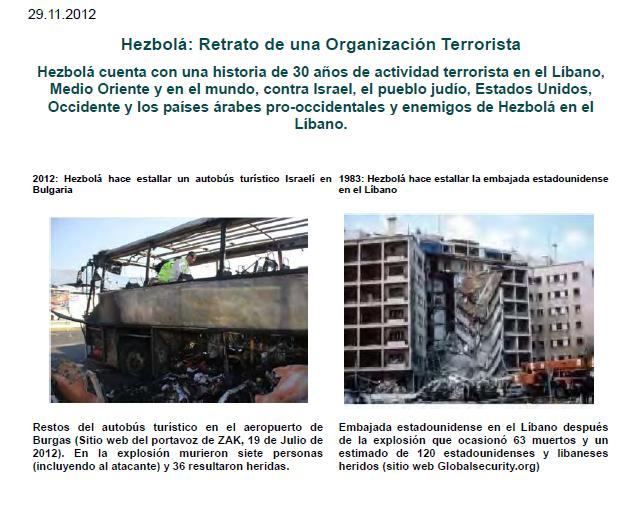 Hezbollah: Retrato de una Organización Terrorista  (Meir Amit)