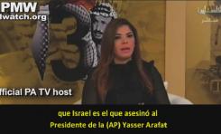 """La TV palestina repite el libelo: """"Israel envenenó a Arafat y debería ser llevada a juicio"""""""