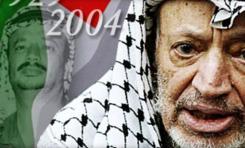 El símbolo palestino (y del terrorismo mundial): Yasser Arafat