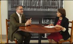 """Gabriel Ben-Tasgal en """"Cara a Cara"""" con Rosalía Arteaga Serrano (Ex-Presidente Ecuador)"""