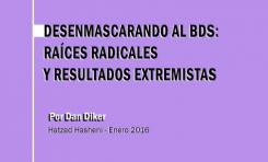 Desenmascarando al BDS: Raíces radicales  y resultados extremistas