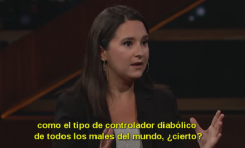 "Bari Weiss en ""Real Time"" (Bill Maher - HBO): ""Trump fomenta teorías conspirativas incentivando a antisemitas"""