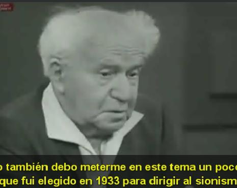 David Ben-Gurión (1970) en una entrevista inolvidable