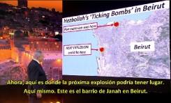 """Netanyahu en ONU: """"Aquí, en Beirut, es donde puede explotar la última bomba por culpa de Hezbollah"""""""