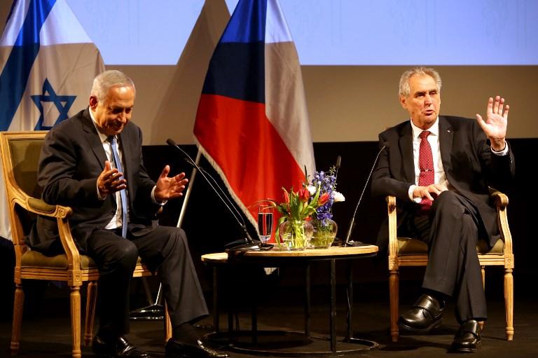 Miloš Zeman en Jerusalén – Dr. Jiri Valenta (BESA)