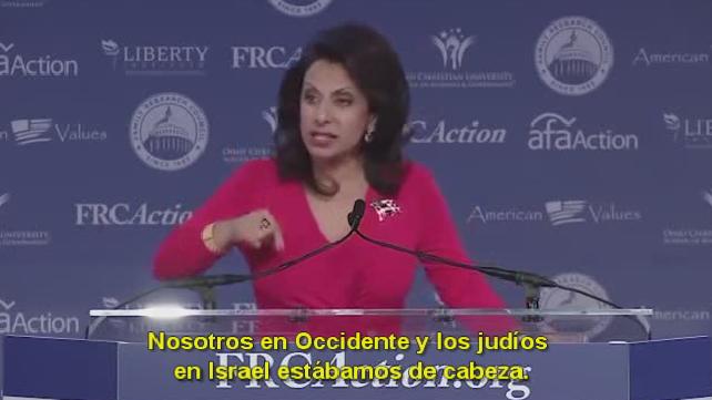 """Briggite Gabriel: """"Te cuento 1400 años de historia islámica en minutos para que no te sigan engañando"""""""