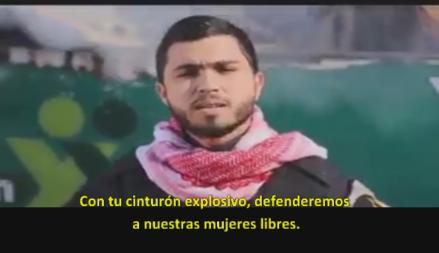 Canción: Educando a niños y adultos palestinos a suicidarse para asesinar judíos