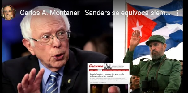 """Bernie Sanders y el """"síndrome del progre"""" – Por Alberto Montaner (elblogdemontaner.com)"""