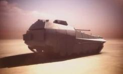 """El vehículo de combate del futuro se llama """"Carmel Israel"""""""