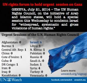 En 9 años de existencia, el Consejo de Derechos Humanos de la ONU condenó a Israel más veces que al resto del mundo combinado