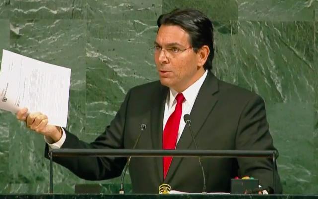 ¿Cómo Israel logró lo imposible en la ONU? – Por Embajador Danny Danon (Israel Hayom)