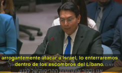 "Embajador Danny Danon: ""¡En vez de controlarlos, UNIFIL le pasa información a Hezbollah!"""