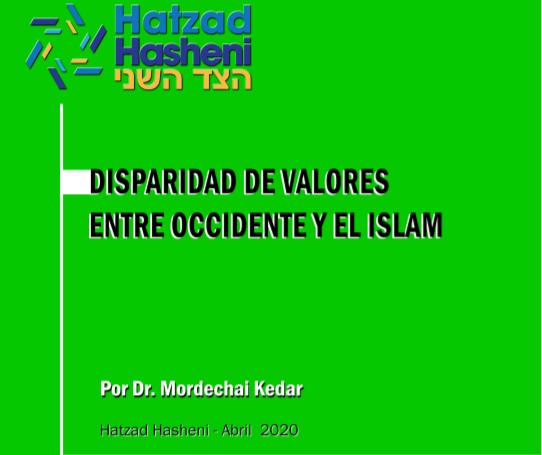 Disparidad de Valores entre Occidente y el Islam – Mordejai Keidar