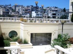 El Balcon del Palacio Hotel Jacir observando el Campo de Deheishe en Belen (75)