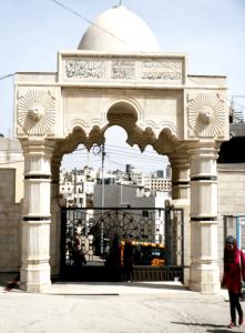 Entrada de la Universidad de Hebron (89)