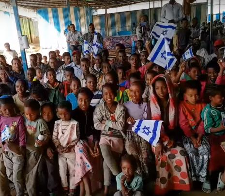 Los judíos de Etiopía bendicen a Israel en su 70º Aniversario de Israel