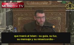 """Clérigo palestino de Mezquita Al-Aqsa: """"Francia será musulmana por obra de la yihad"""""""