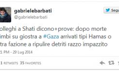 El corresponsal en Gaza nos revela: la masacre de los niños palestinos en el campo de juego fue por culpa de un cohete del Hamás y no de Israel – Por Gabriele Barbati (Italia 30/7/2014)