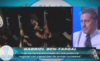 """Entrevista en """"Ellos Si Pudieron"""" en España sobre los principales problemas del medio oriente"""