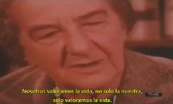 """Entrevista a Golda Meir (1970): """"La diferencia es que nosotros valoramos la vida"""""""