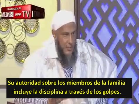"""Jeque explica cómo golpear a su esposa según el Islam: """"Tres golpes con la mano sobre la espalda"""""""