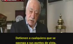 Líder opositor turco en el exilio Fethullah Gülen compara a Erdogan con Hitler y Saddam